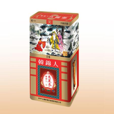 韓錦人高麗蔘-天級十天蔘條
